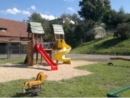 Nově vybudované dětské hřiště
