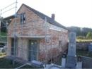 Oprava márnice na černovírském hřbitově