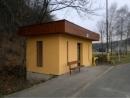 Opravená černovírská autobusová zastávka