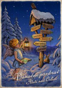 Vanoční pohlednice