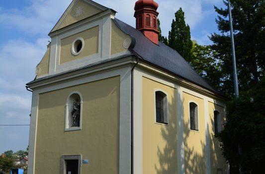 Hylvátský kostel sv. Anny z roku 1755